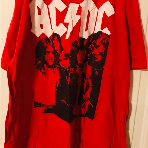 AC DC Other - Men's short sleeve AC DC t shirt size XL